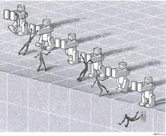 #Ilustración del Financial Times sobre #robótica