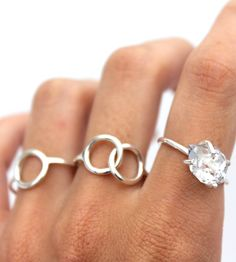 Together Sterling Silver Link Ring | Jewelry Rings | Lumo | Scoutmob Shoppe | Product Detail
