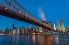 Manhattan skyline from Roosevelt Island, New York