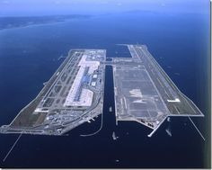 Kansai Airport, Osaka, Japan (where we first landed in Japan, on our way to Okinawa,1998)