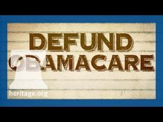 """Defund Obamacare Now Senate democrats are responsible for keeping this """"train wreck"""" going. You own it and you will be blamed for it dems! We will vote against anyone that either voted to fund obamacare or that voted for cloture."""