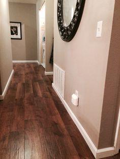 Our newly installed LVT flooring. Karndean- Dawn Oak