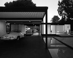 ARTIST: Julius Shulman & Juergen Nogai  TITLE: Case Study House #21, Los Angeles, CA (Pierre Koenig, architect, 1958)