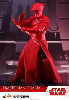 Star Wars Praetorian Guard with Double Blade Sixth Scale Fig | Sideshow Collectibles