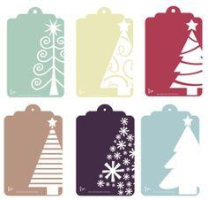 etiquetas regalos imprimible navidad/ Diario de una Novia - Blog de Bodas