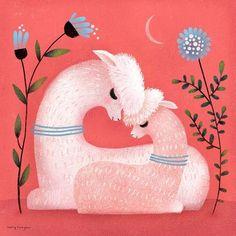 Alpaca Love Art Print by Terry Runyan - X-Small Alpacas, Cute Alpaca, Baby Alpaca, Lama Animal, Framed Art Prints, Canvas Prints, Alpaca My Bags, Love Canvas, Love Frames