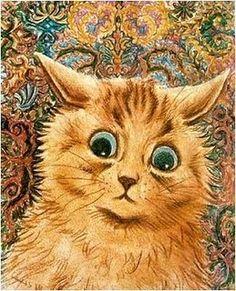 Wallpaper Cat | Louis Wain
