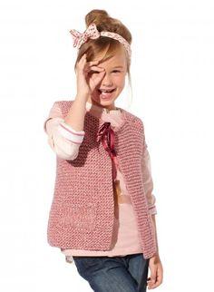 Mag 164 - n° 18 Gilet fille Modèles, broderie & tricot Achat en ligne