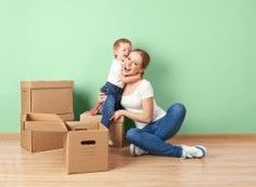 #relocation #house #packing #boxes
