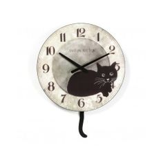 Wall Clock Clocks Cat Unique Decorative Novelty Kitchen Pendulum Watches Time  #TIME
