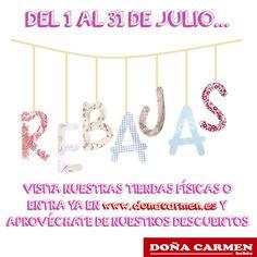 Las estabais esperando y ¡ya están aquí!  Doña Carmen presenta...   #rebajas #sales #modainfantil #bebes #kids #love