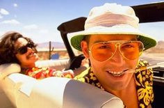 """A drug person can learn to cope with things like seeing their dead grandmother crawling up their leg with a knife in her teeth. But no one should be asked to handle this trip."" - Fear and Loathing in Las Vegas (1998)"