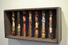 Wrapped in Many Stories 2 by Kirsten Balouch  via Flickr