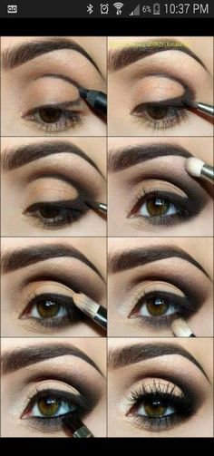 smokey eye, the nest way to do it, cant stop doing it everday!! #Fashion #Beauty #Trusper #Tip