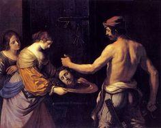 Salomé reçoit la tête de Jean-Baptiste - le Guerchin
