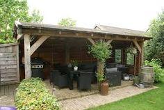 landelijke tuin met veranda - Google zoeken