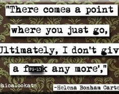 helena bonham carter quotes | Helena Bonham Carter Comes a Point Quote Magnet or Pocket Mirror (no ...