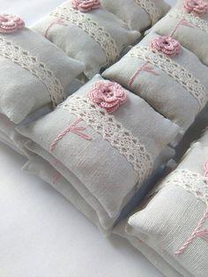 Faveurs de mariage, faveurs uniques, cotillons, sachets de lavande, coussins de…