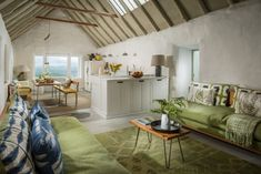 Holiday home of the week: a red-roofed cottage in Ireland's County Kerry House, Interior, Home, Ireland Cottage, Cottage Renovation, Beach Cottage Style, Irish Cottage, Irish Cottage Interiors, Luxury Cottage