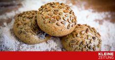 """Zum """"Weltag des Brots"""": Rezept für knusperfrische Dinkelweckerl für den Frühstückstisch von Backprofi Christian Ofner. Muffin, Cookies, Breakfast, Desserts, Food, Pizza, Bread Baking, Breads, Healthy Food"""