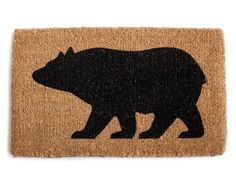 Bear Door Mat | Izola