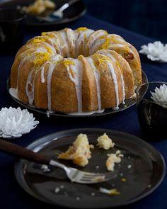 Sweet Paul's Orange and Cranberry Cake