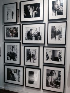 Pictures wall - Black and White is cool