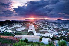 @DuyLeDo: Sunset in #DaLat city, #Vietnam