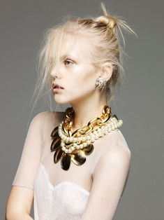 Anne Sophie Monrad by Nagi Sakai for Please S/S 2012