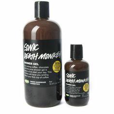 Sonic Death Monkey shower gel