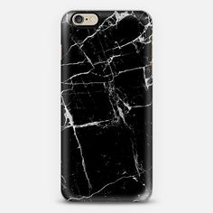 Black Marble Metaluxe Case - Classic Snap Case