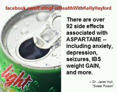 Please read labels - Avoid Aspartame . I suffered with severe abdominal… Healthy Habits, Get Healthy, Healthy Tips, Healthy Recipes, Health And Nutrition, Health And Wellness, Health Fitness, Weight Gain, Weight Loss