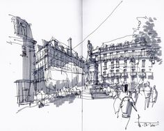 Place Luís de Camões © Pedro Alves - Stillsketch