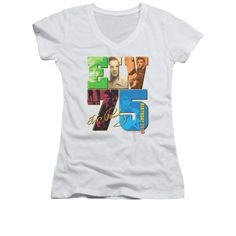Elvis Presley - Birthday 2010 Junior V-Neck T-Shirt