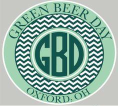 green beer day miami university ohio