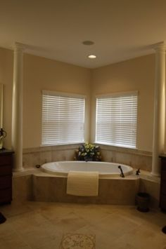 i need to accessorize my corner tub this is lovely home sweet home pinterest corner tub and tubs - Bathroom Remodel Corner Tub