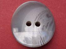 8 Knöpfe grau 21mm (3772-2) Jackenknöpfe Knopf