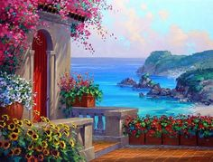 ... искусства - Mikki Senkarik. Paintings