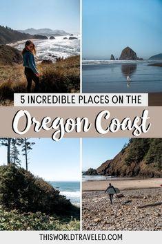 The Oregon Coast: 5 Beautiful Places to Visit in the Pacific Northwest Oregon Coast Roadtrip, Oregon Travel, Travel Usa, Ecola State Park, South America Travel, North America, Us Travel Destinations, Beautiful Places To Visit, Africa Travel