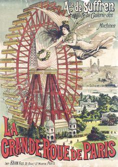 Albert Dorfinant / La Grande Roue de Paris, 1900