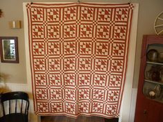 Vintage Antique Quilt Graphic Design Made By Hand by FairchildsInc, $310.00