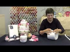 Art How to Make a cloth Diaper Cake diapercake-tutorials Idee Baby Shower, Baby Shower Parties, Baby Shower Gifts, Boy Shower, Cloth Diaper Cakes, Nappy Cakes, Diaper Crafts, Baby Crafts, Diy Diapers