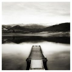 black and white photography lake - Google Search