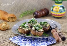 gefüllte champignons mit feta | kakuko.wordpress.com
