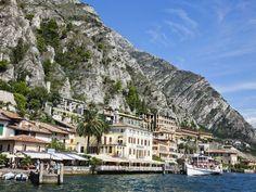 Town in Limone Sul Garda, Brescia Province, Lombardy, Italy