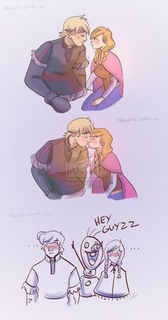 Frozen Anna And Kristoff, Frozen And Tangled, Disney Frozen, Disney Films, Disney And Dreamworks, Disney Pixar, Disney Memes, Disney Fan Art, Disney Love