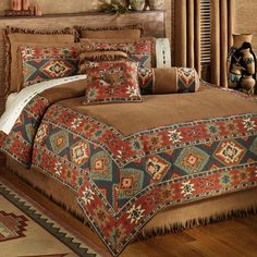 Canyon Ridge Comforter Bedding...I think I want this for my bedroom