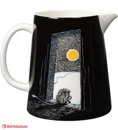 Moomin pitcher - The Ancestor 1 l by Arabia - The Official Moomin Shop - 2 Moomin Shop, Moomin Mugs, Moomin Valley, Tove Jansson, Kitchenware, Tableware, Dream Furniture, Royal Design, Motif Design