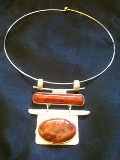 Red Jasper Handmade Necklace