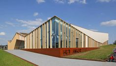 Het Anker community centre in Zwolle (the Netherlands) completed by MoederscheimMoonen Architects  Zwolle recently saw the completion of a new community cent...